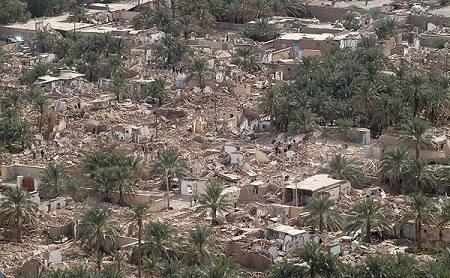 زلزله بم در چه سالی بود چند ریشتر و چند ثانیه طول کشید