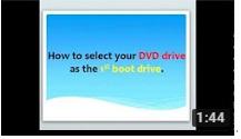 انتخاب dvd به عنوان بوت اول