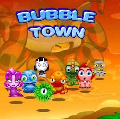 دانلود بازی شهر حباب Bubble Town برای کامپیوتر