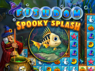 دانلود بازی کم حجم Fishdom Spooky Splash  برای کامپیوتر