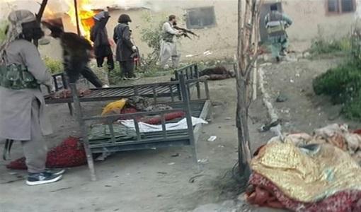 درگیری طالبان و گروه تروریستی داعش در شرق افغانستان