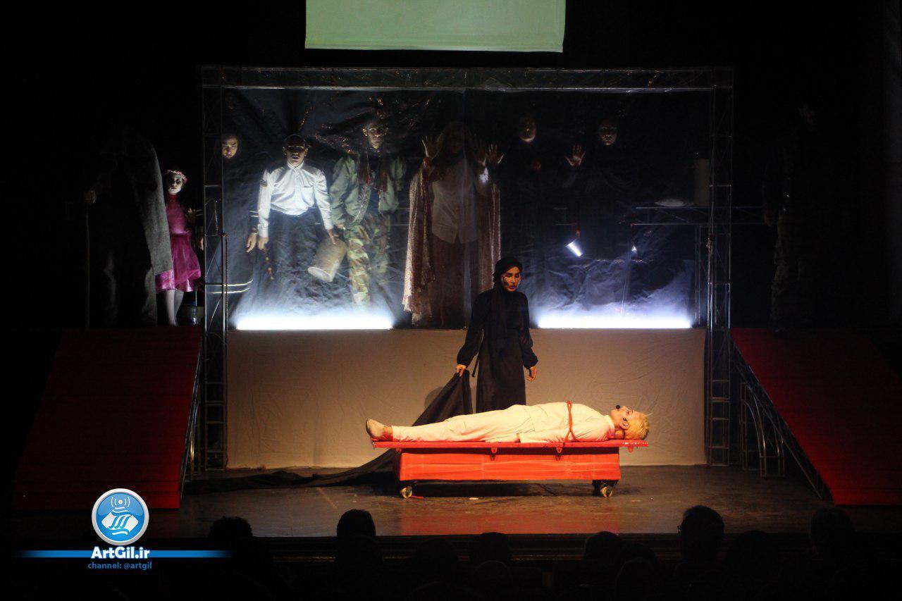 نمایش «روایت های متقاطع از یک قتل» به روایت تصویر