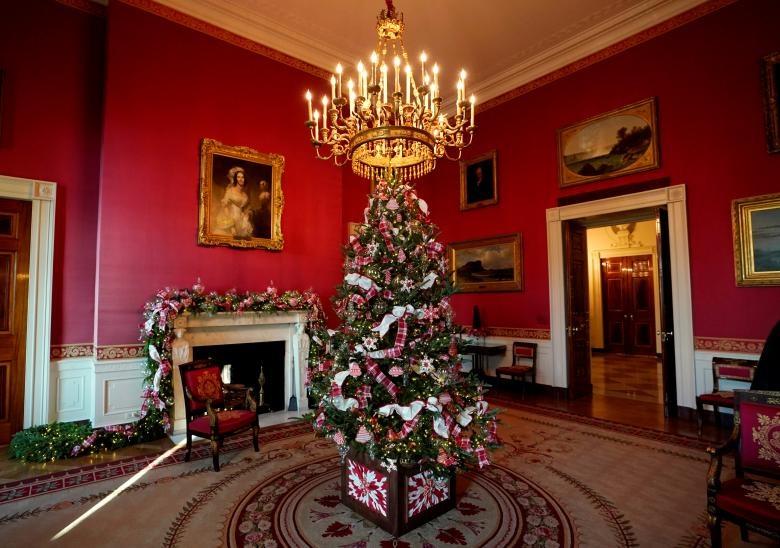کاخ سفید در انتظار کریسمس