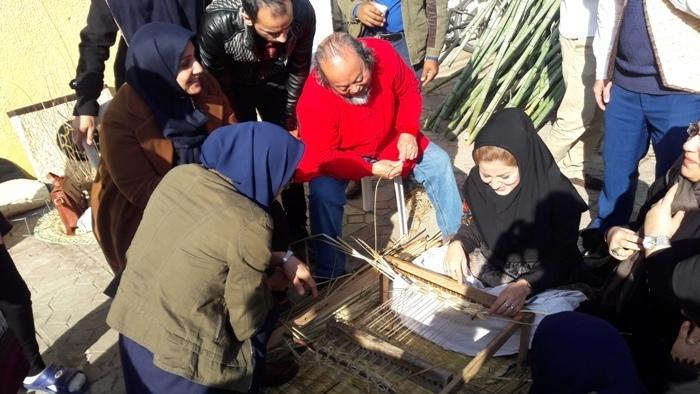 برگزاری کارگاه بامبو بافی باهمکاری شورای جهانی صنایع دستی در لاهیجان