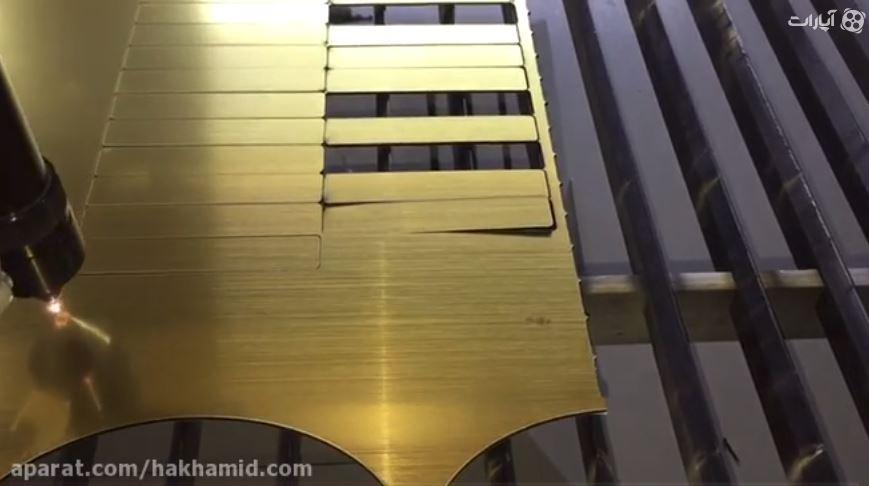 ویدیوی برش لیزری مولتی استایل