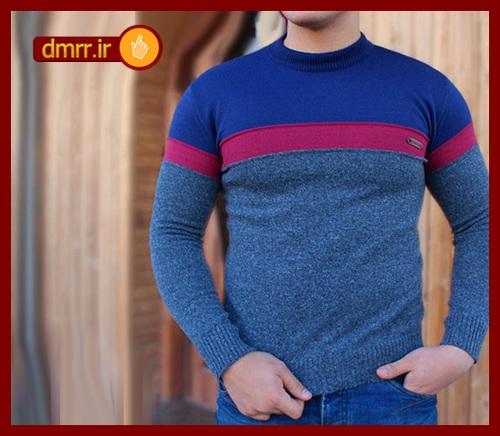 لباس بافتنی مردانه چسبان مخصوص پاییز و زمستان