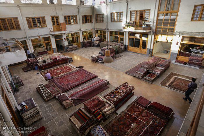8Tehran carpet market