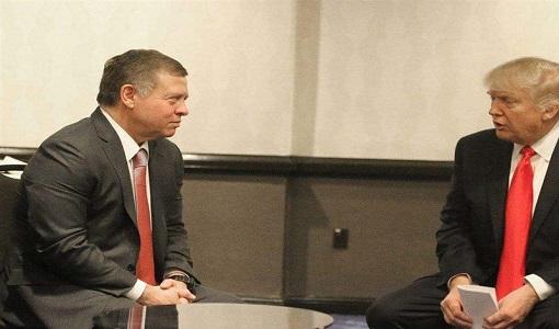 ترامپ به پادشاه اردن انتقال سفارت آمریکا به قدس را خبر داده است