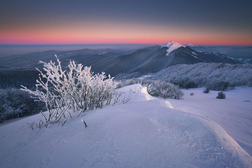 لهستان در پوشش زمستان