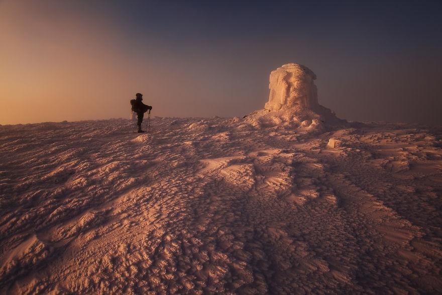 لهستان در برف
