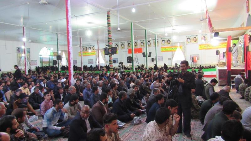 هفدهمین یادواره عارف  شهید  سردار حاج علی محمدی پور و نوزده تن از همرزمانش+ تصاویر
