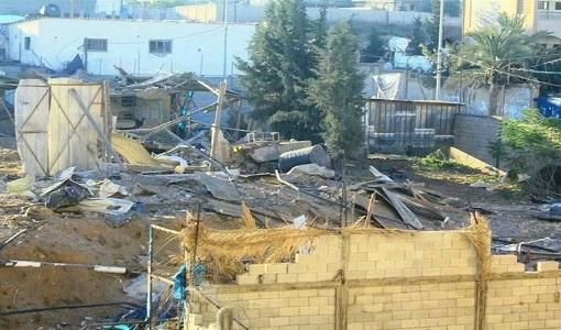شهادت ۲ فلسطینی دیگر در حمله هوایی رژیم صهیونیستی به غزه + عکس