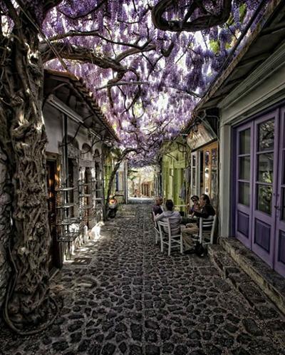 خیابان های میتایمنا یونان