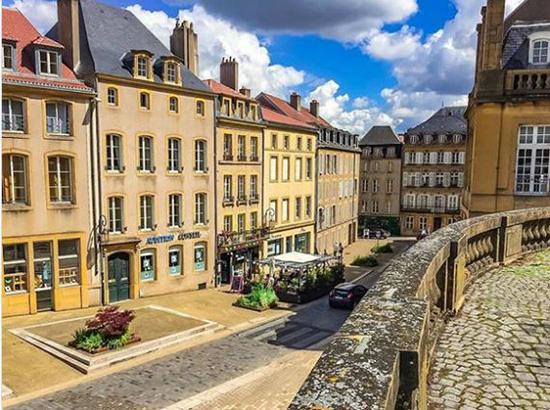 خیابان های روستای موزل در آلمان