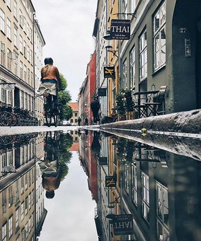 خیابان های کپنهاگ دانمارک