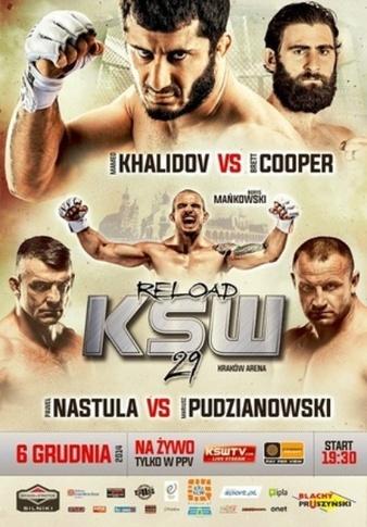 دانلود پی پریو KSW 29 Khalidov vs Cooper ریلیز اختصاصی 720p