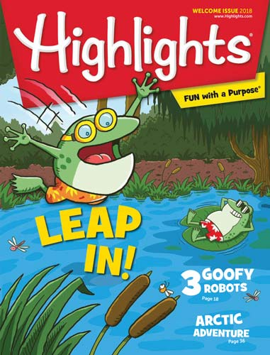 Highlights For Children Welcome Issue 2018