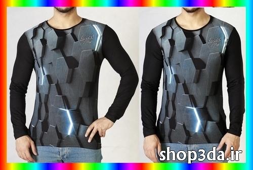 خرید اینترنتی تی شرت سه بعدی ارزان
