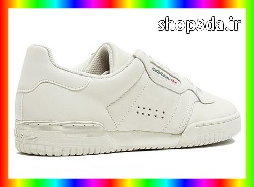 خرید اینترنتی کفش آدیداس دخترانه Calabasas رنگ سفید ساده