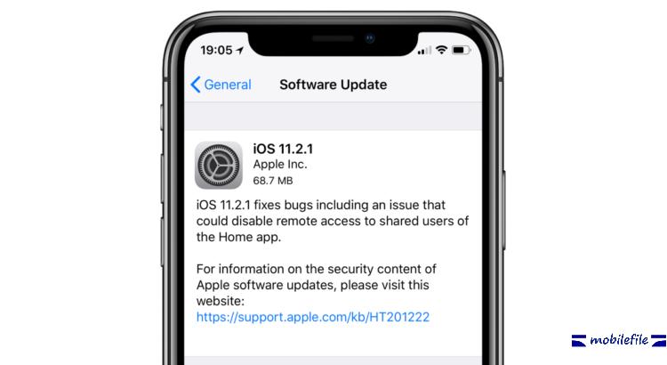 اپل آپدیت IOS 11.2.1 را ارائه کرد( معرفی )