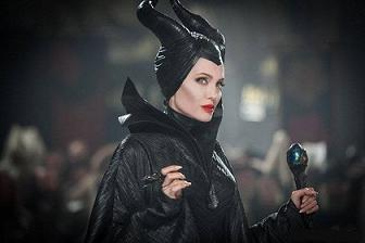 گريم متفاوت آنجليناجولي ببينيد / آنجلينا جولي در فيلم ملکه بدجنس