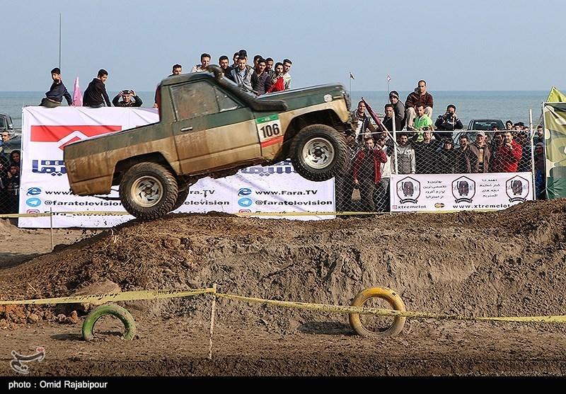 مسابقات آفرود قهرمانی کشور در رودسر برگزار شد