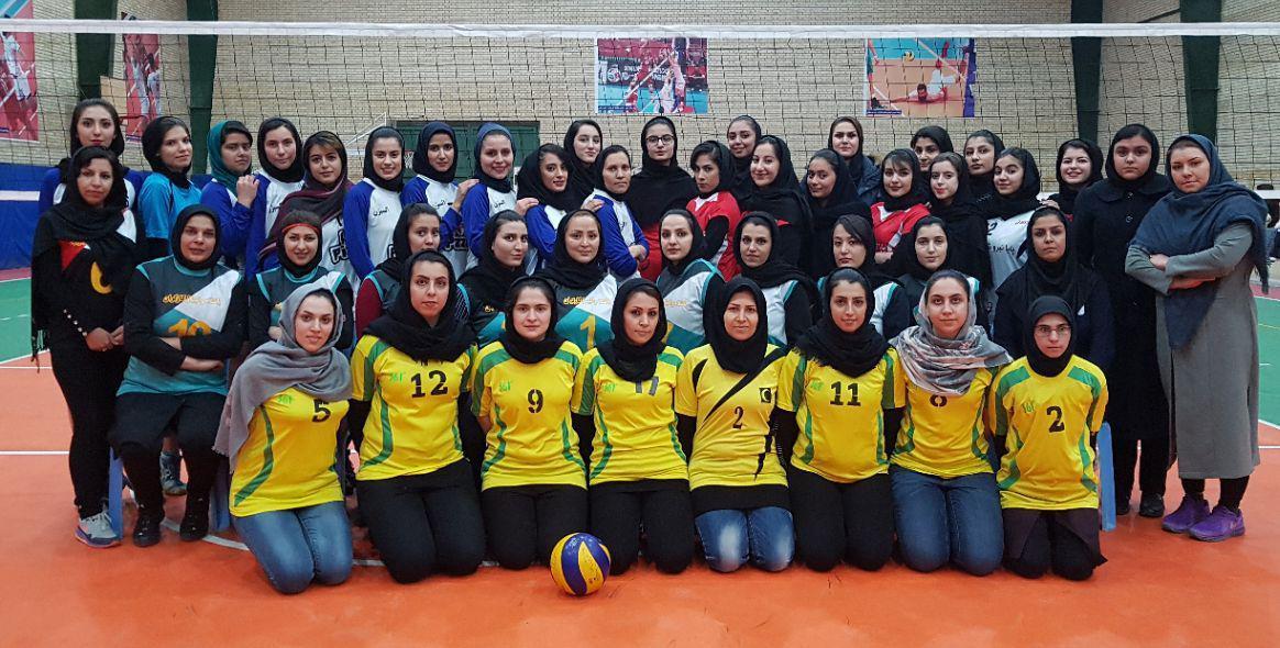 نتایج هفته دهم از دور برگشت لیگ والیبال بانوان کارگران خراسان شمالی