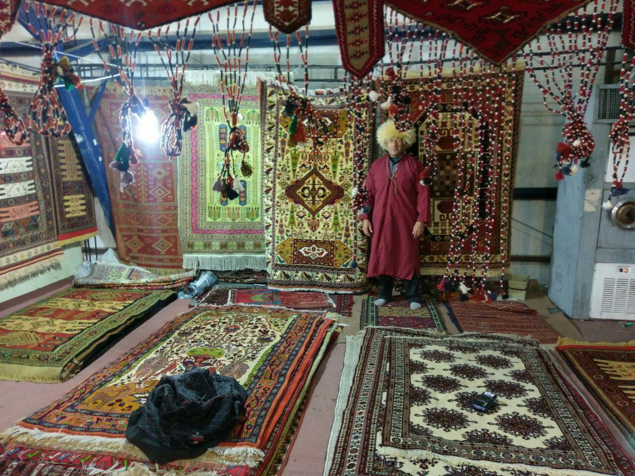 درخشش هنر بانوان ترکمن خراسان شمالی در دومین نمایشگاه سراسری خراسان جنوبی