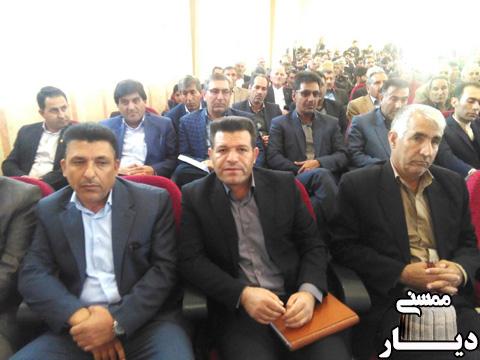 معارفه رئیس جدید اداره آموزش و پرورش منطقه ماهور