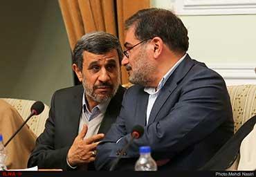 آیینه یزد - جزئیات حرفهای عجیب احمدینژاد با شمخانی