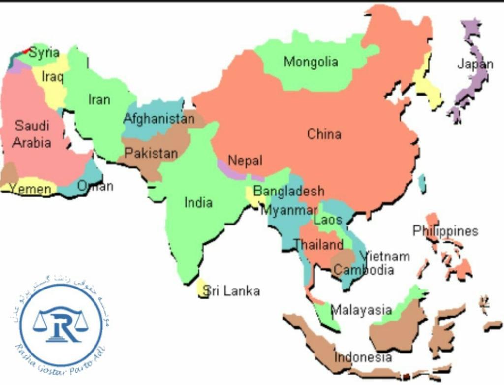 موقعیت چین در نقشه