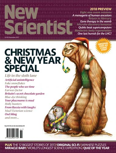 New Scientist 23 December 2017
