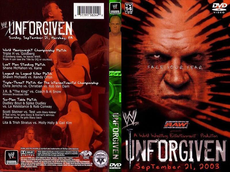 Unforgiven 2003
