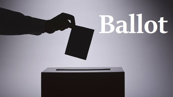 برگه رای – Ballot – آموزش لغات کتاب ۵٠۴ – English Vocabulary – کدینگ لغات ۵٠۴