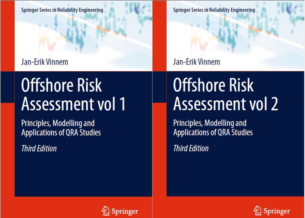 دانلود مجموعه دو جلدی ارزیابی کیفی سازه های دریایی Offshore Risk Assessment 2 volume set