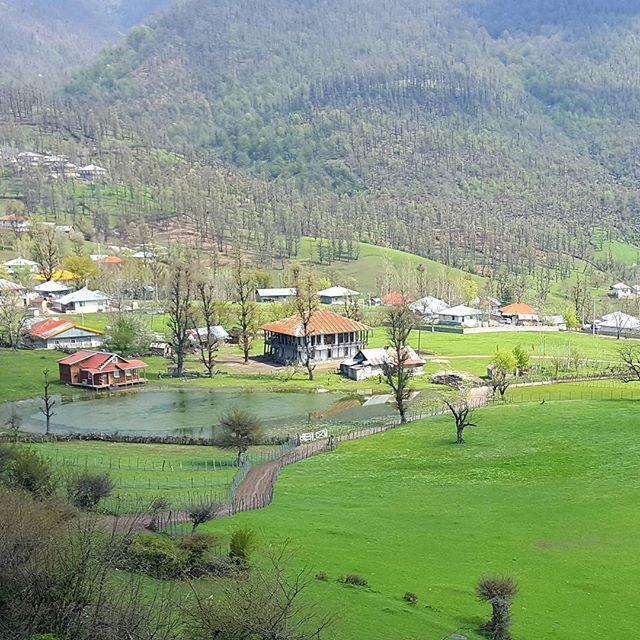 روستای استخرگاه در رودبار گیلان