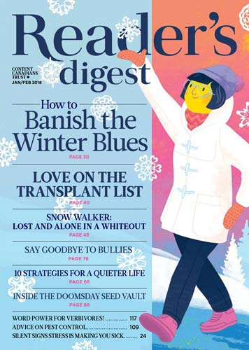 Readers Digest Canada January 2018