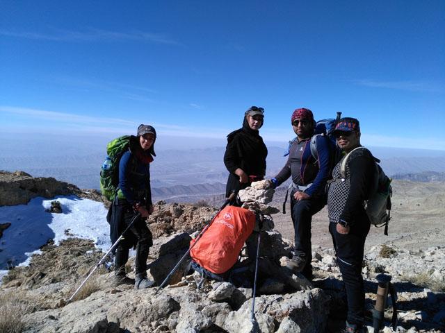 صعود به قله دیش