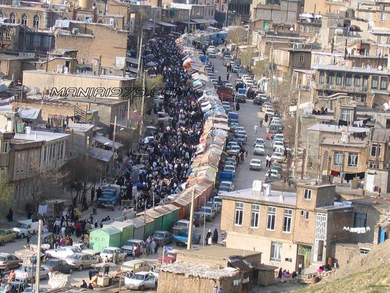 Bazarche Javanrood1 - بازارچه مرزی جوانرود