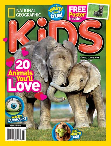 National Geographic Kids February 2018