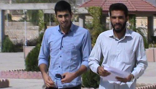 بسیج دانشجویی بیضا - محمد باقر جعفری و علیرضا دانایی