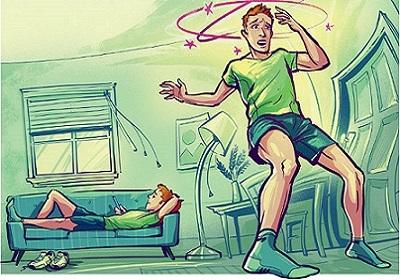 چرا بعضی اوقات هنگام بلند شدن دچار سرگیجه می شویم؟