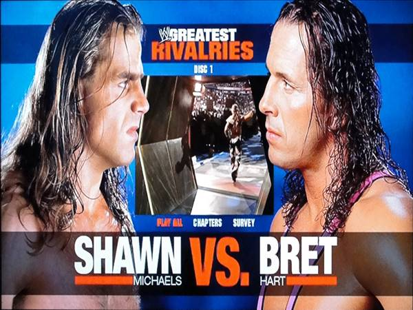 Greatest Rivalries Shawn.Michaels vs. Bret Hart