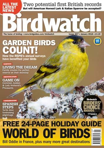Birdwatch UK January 2018