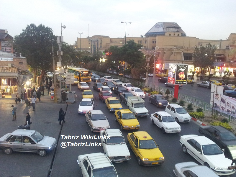 ترافیک تبریز