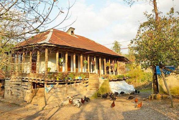 جاذبه های گردشگری رودبار  روستای حلیمه جان