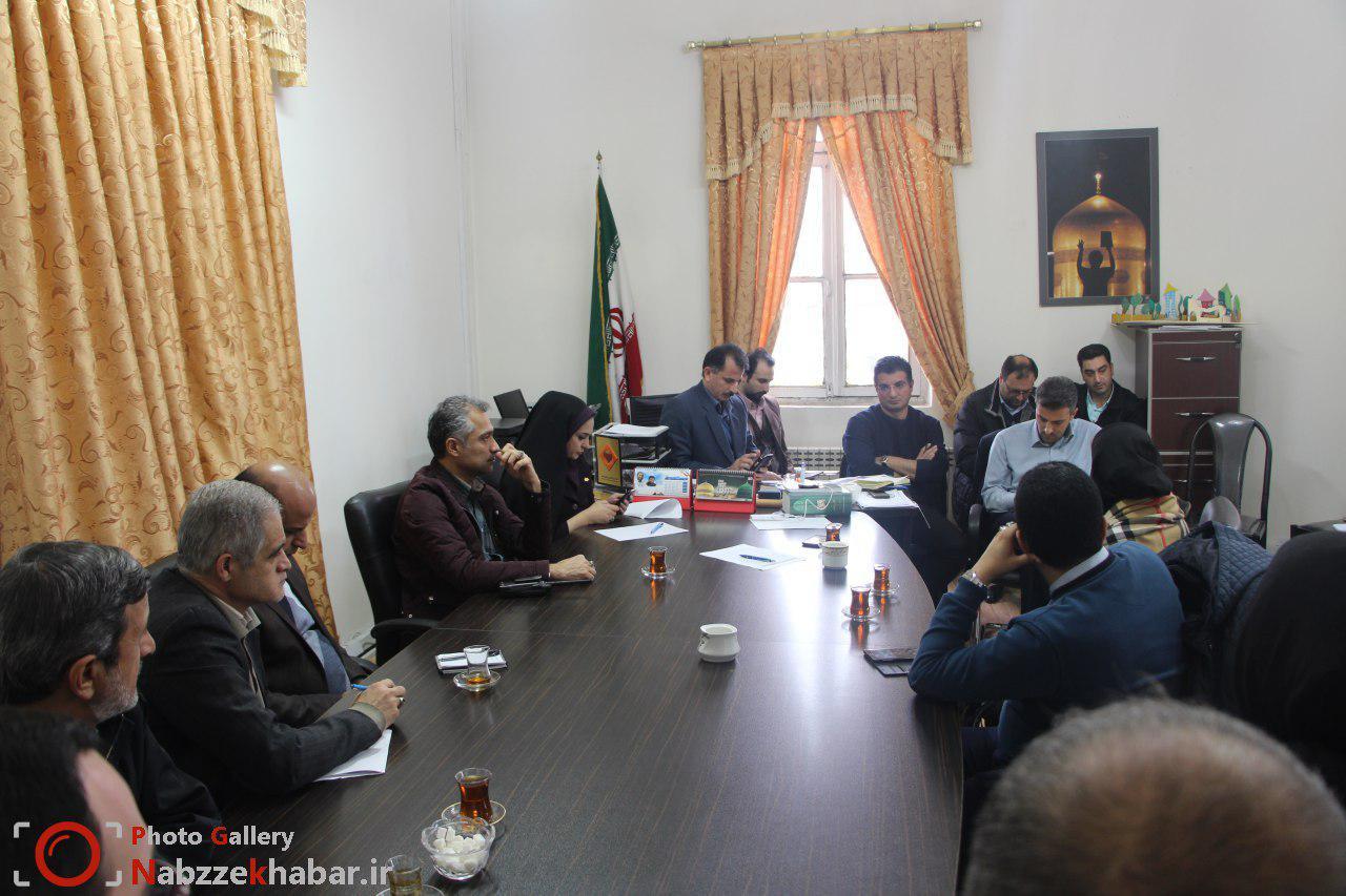 گزارش تصویری جلسه مدیریت بحران برف با سازمانهای مردم نهاد شهرستان رشت در سازمان فرهنگی ورزشی