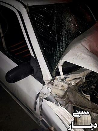 یک کشته و سه زخمی در حادثه رانندگی در تنگه بوان