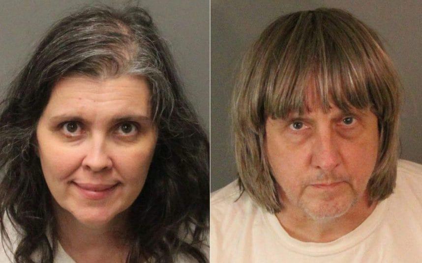بازداشت پدر و مادر آمریکایی که ۱۳ فرزند خود را در خانه زندانی کرده بودند