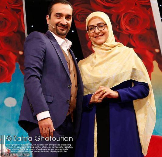 نیما کرمی و زینب زارع | مهمان دورهمی پنجشنبه 28 دی 96